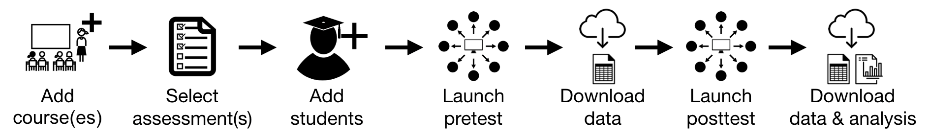A visual representation of LASSO workflow.